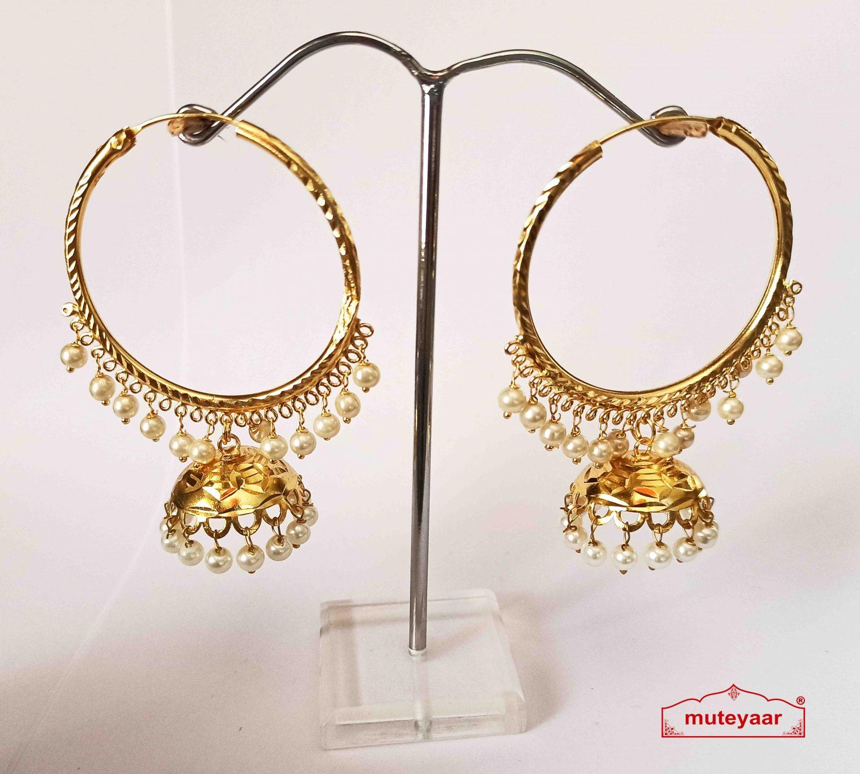 Lotan Bali Earrings Jhumki J0523 1