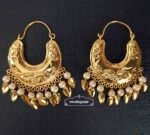 Golden Bucket Bali Earrings J0525