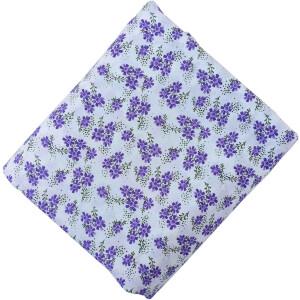 White Base Printed 100% Pure Cotton Fabric PC482