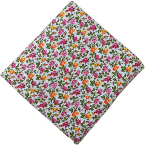 100% Pure Cotton Printed Fabric Skin Friendly Dress Material PC500