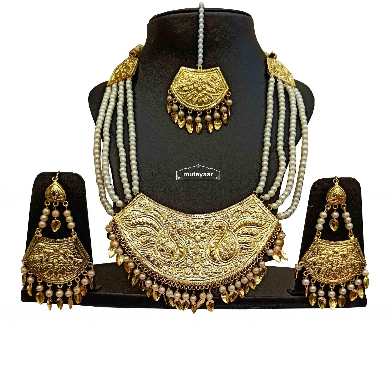 Imitation Punjabi Jewellery Set J0526 1
