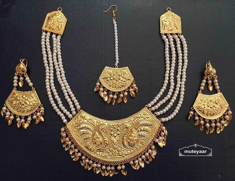 Imitation Punjabi Jewellery Set J0526 2