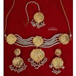 Choker Set Gold Plated Jewellery J0527