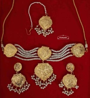 Choker Set Gold Plated Jewellery J0527