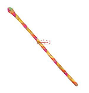 Phulkari Decorated Stick for Chhajj
