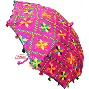 Phulkari Umbrella