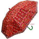 Maroon Phulkari Umbrella Decorative Chhatri UMB02