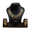 Kundan Set Punjabi Necklace Earrings Jewellery J0531