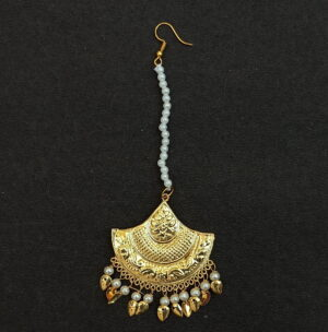 Triangular Tikka Maang Teeka Hair Jewellery J0539