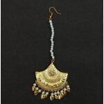 Triangular Tikka Maang Teeka Hair Jewellery J0539