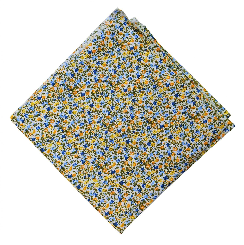 Pure Cotton Fabric with Multicolour Small Floral Design PC514 1