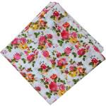 Multicolour Floral Print Pure Cotton Fabric PC518