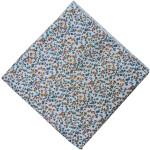 Small Multicolour Floral Print Cotton Fabric PC521