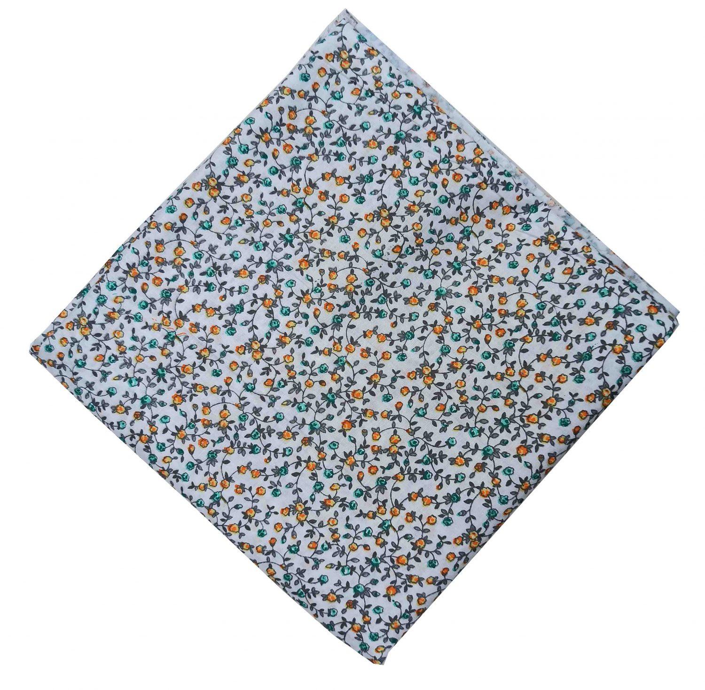 Small Multicolour Floral Print Cotton Fabric PC521 1