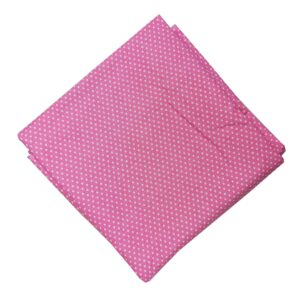 Baby Pink Polka Print Soft Skin Friendly Pure Cotton Fabric PC527