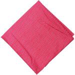 Magenta Polka Dots Printed Cotton Fabric PC532