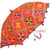 Red Phulkari Umbrella UMB03