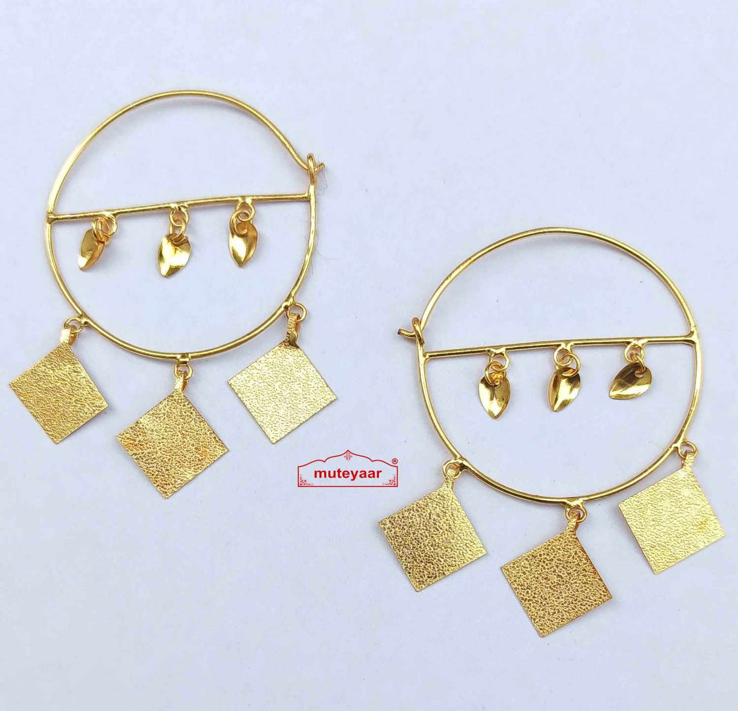 patti bali punjabi traditional earring J0549 1