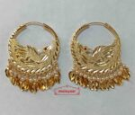 Single Morni Golden Bali Earrings J0551