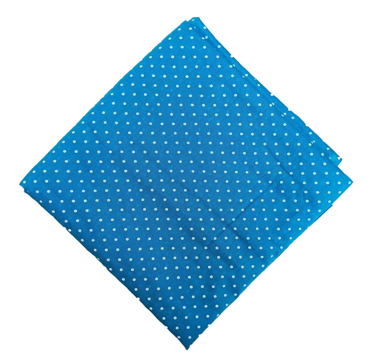 Firozi Polka Dots Printed Cotton Fabric Soft Skin Friendly Cloth PC548 1