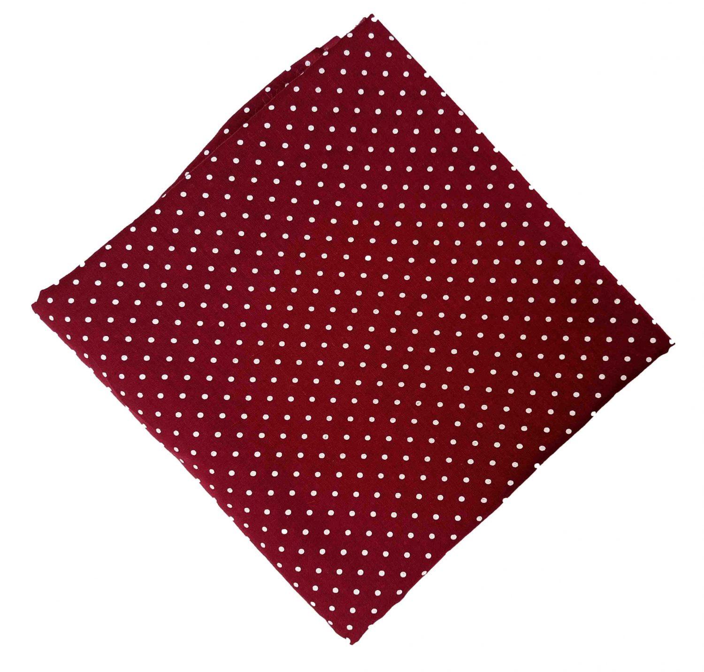 Maroon Polka Dots Print Pure Cotton Fabric Cut Piece PC550 1