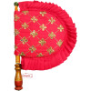 Sequins Embroidered Hand Fan T0268