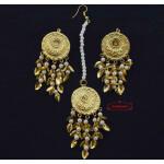 Small Earrings Tikka Set J0556