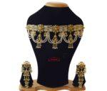 Jhallar Necklace Set Jadau Jewellery J4013
