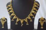 White Jadau Necklace Set J4015