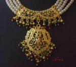 Gold Plated Punjabi Jadau Jewellery Set J4020