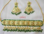 Green Guluband Choker Set J4026