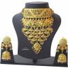 Rajputi Necklace Jadau Set Rajasthani Jewellery 4027