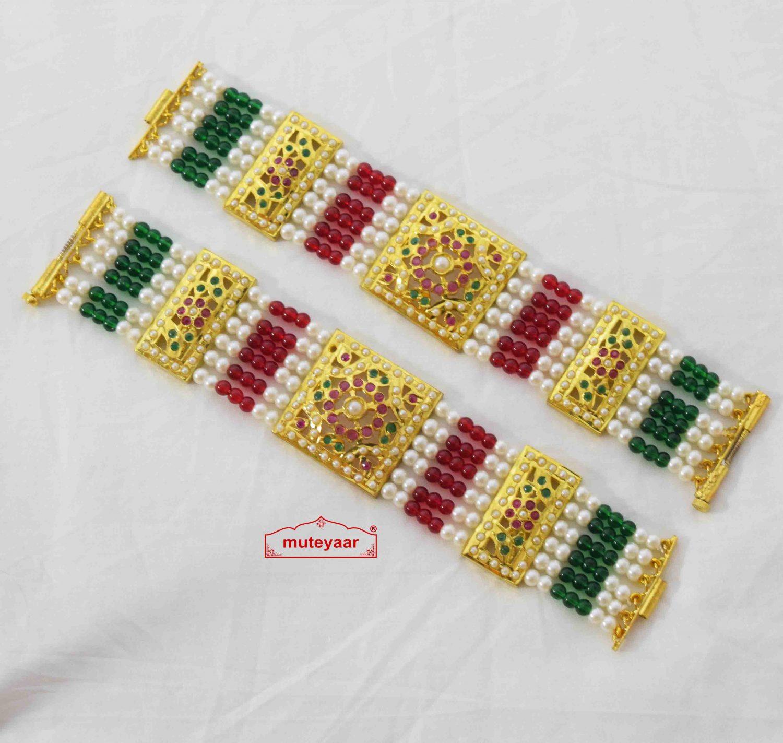 Jadau Bracelet Pair BN173 1