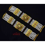 Gold Plated Jadau Bracelet Pair BN174