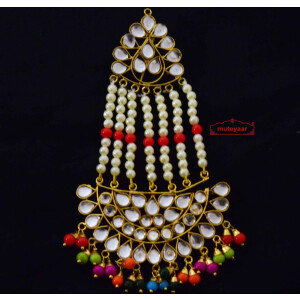 Kundan Passa Hair Accessory J0349