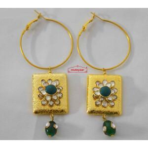 Kundan Jadau Designer Earrings J0574
