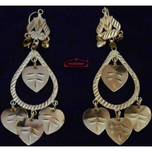 Designer Peepal Patti Earrings J0580