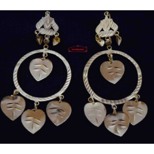 Punjabi Pipal Pati Earrings J0582