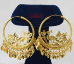 Peacock Bali earrings J0585
