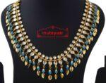 Kundan Chain with firozi beads J0589