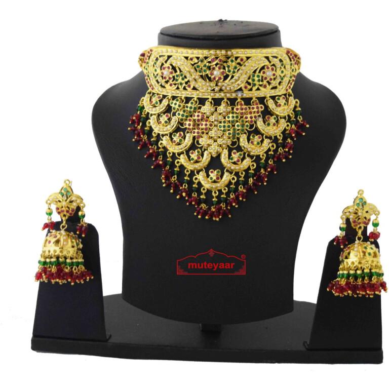 Rajpooti Jewellery Jadau Set