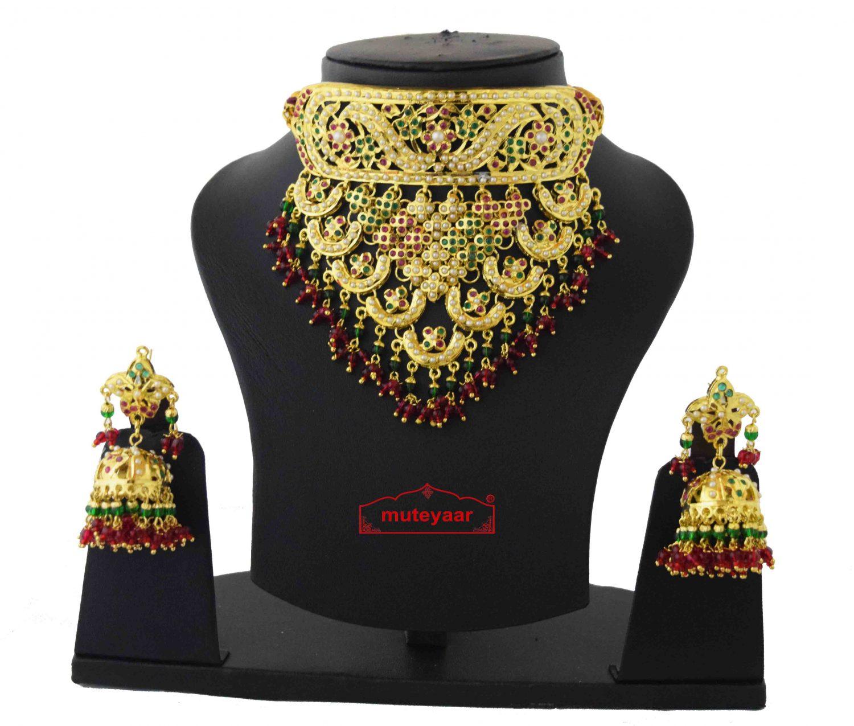 Rajpooti Jewellery Jadau Set J4039 1