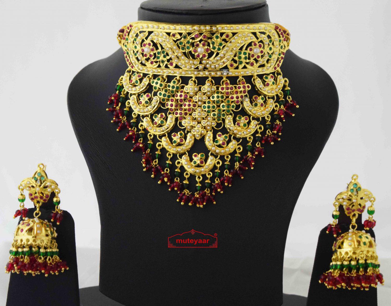 Rajpooti Jewellery Jadau Set J4039 2