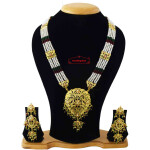 Long Necklace Jadau Ranihaar J4040