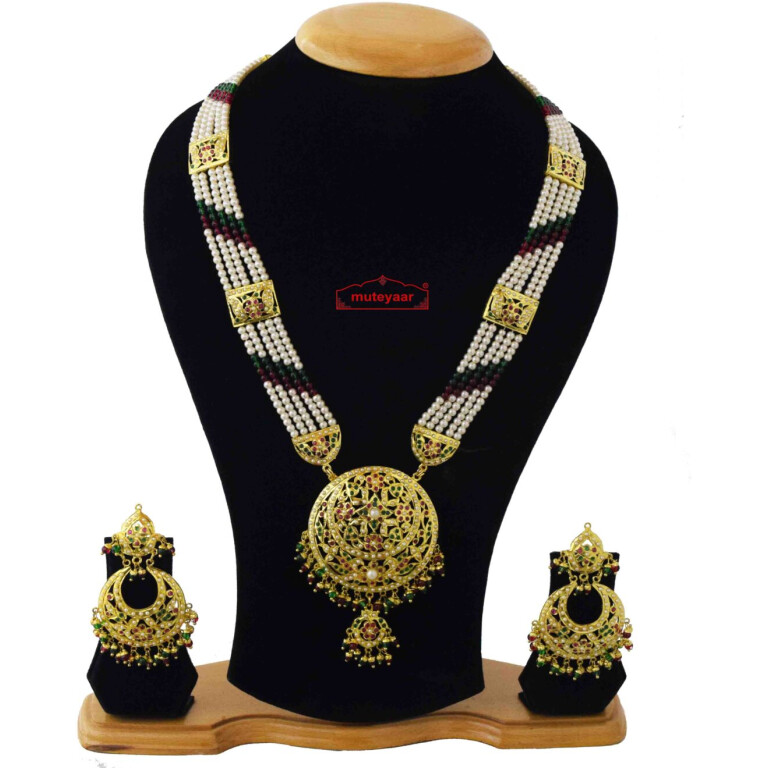 Ranihaar Jadau Bridal Jewellery Set J4042