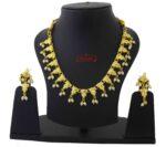 Sleek Jadau Necklace Set J4044