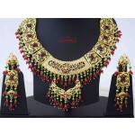 Collar Set Jadau Bridal Jewellery J4056
