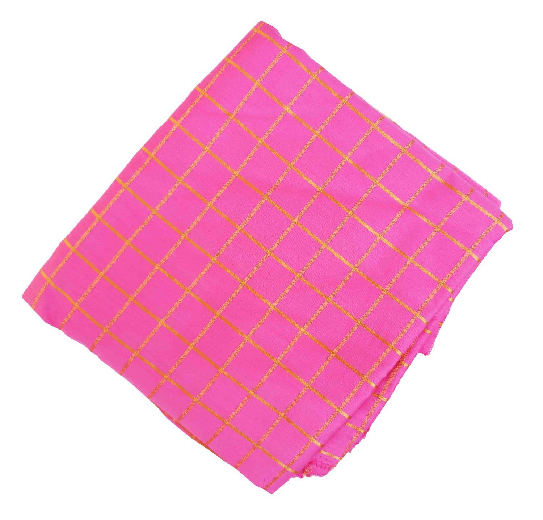 Glazed Pink Jaam Cotton Suit CutPiece of 5 Mtrs CJ026 1