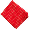 Red Check Design Suit CJ032
