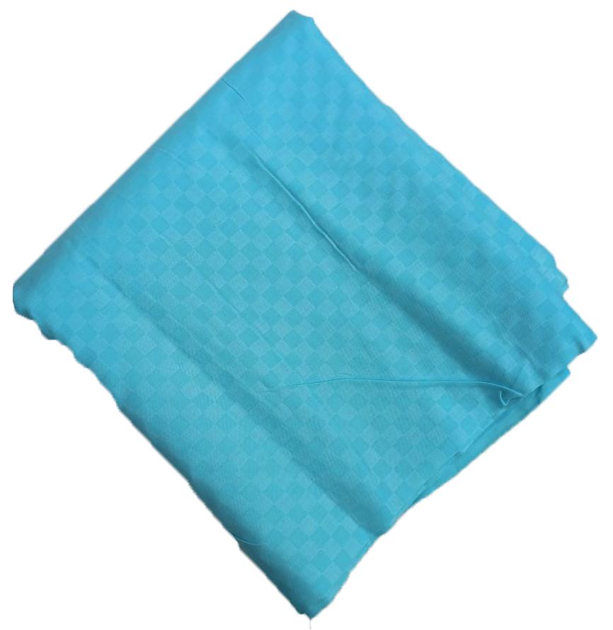 Light Blue Chatai Print Cotton Suit piece of 5 Mtr CJ034 1